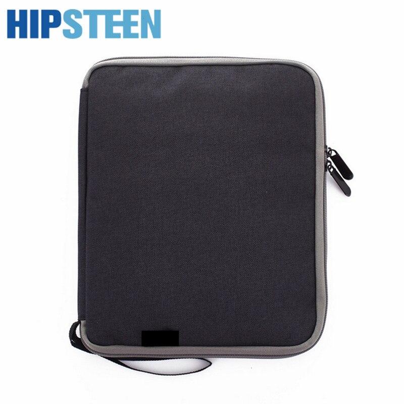 HIPSTEEN New 2017 Women Men Travel Bags Organizer Digital Products Organized Male Travel Travelling duffle Bag Black