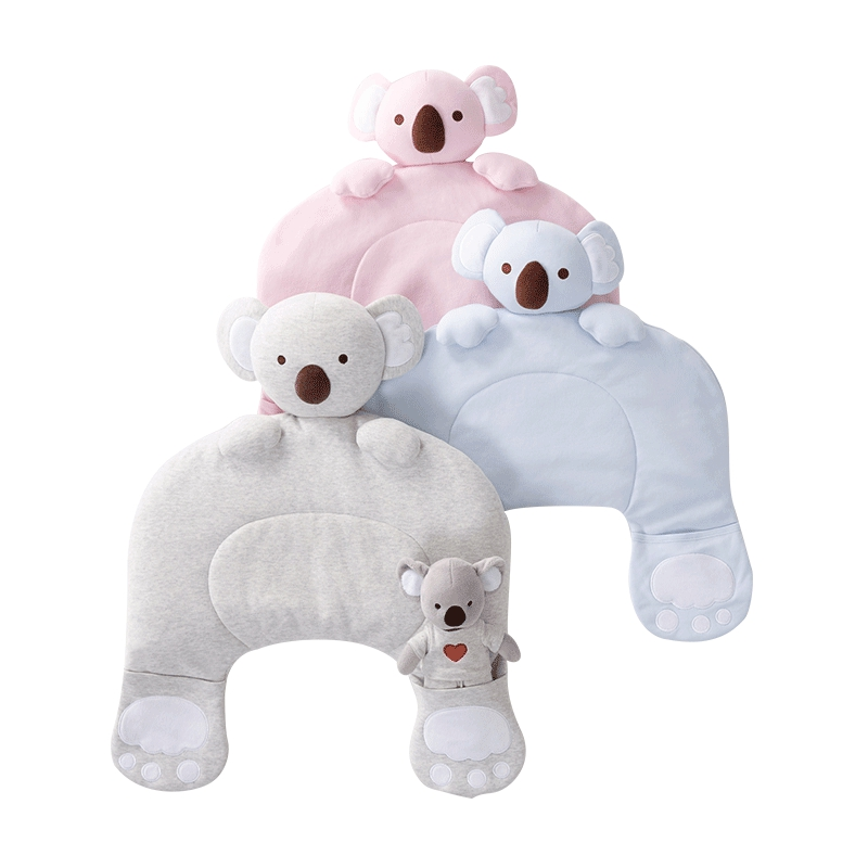 Mengjie Baby Koala Magic Pillow Infant Memory Pillow Sleep deluxe edition of the baby child health pillow space memory pillow