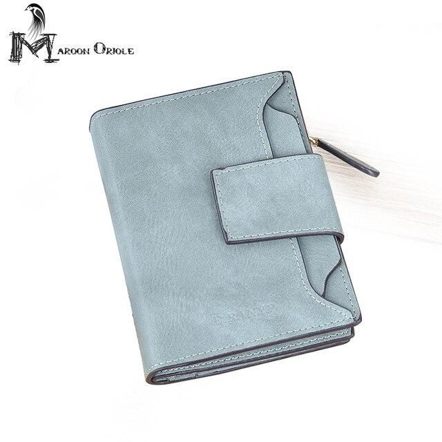 Women's Multi-card Position Two Fold Purse Bifold Leather Wallet LZ-1027-2