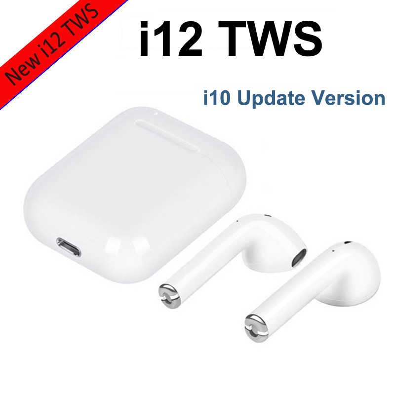 ed9b2450cf0 2019 NEW i12 TWS i10 Bluetooth Earphone Wireless earphones Touch control  Headset 3D Stereo Earbuds Charging