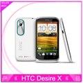 T328e первоначально открынный HTC Desire X T328e 4.0 '' 3 г телефон android-wifi GPS 5 Мп камера двойной двухъядерный мобильный телефон бесплатная доставка