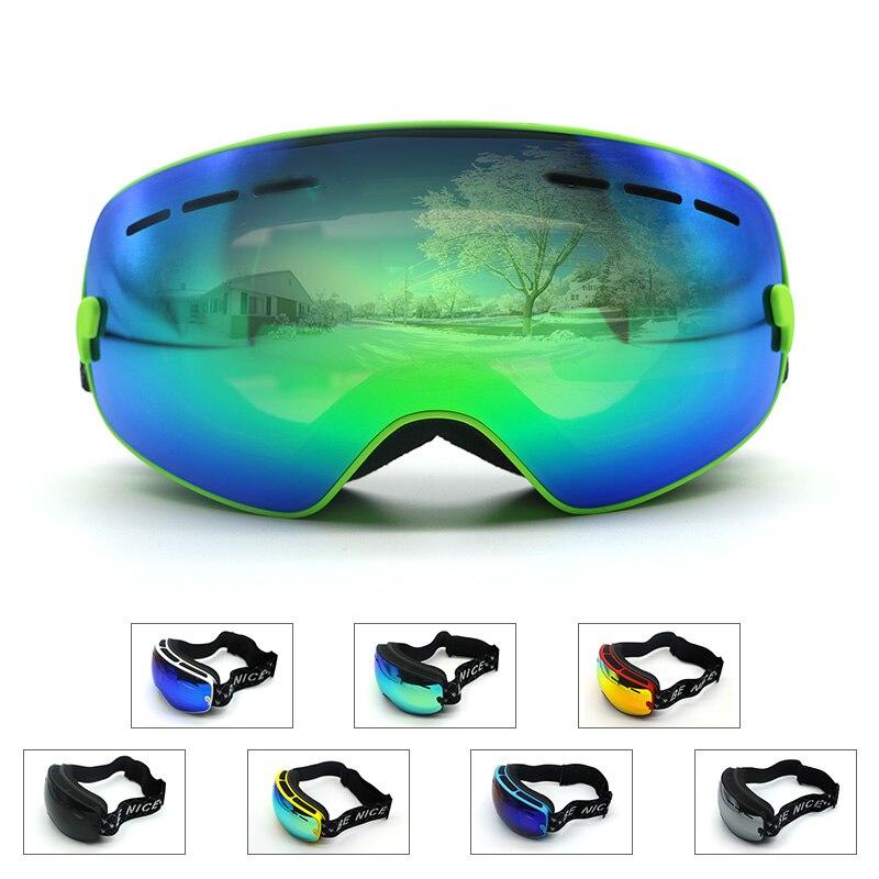 Los niños Gafas de Esquí Doble lente UV400 anti-vaho gafas de esquí gafas de nie