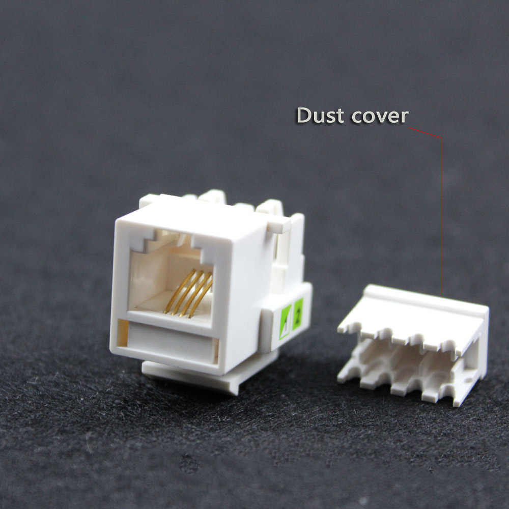 hight resolution of detail feedback questions about hot 5pcs tool free telephone module rj11 connector voice wiring