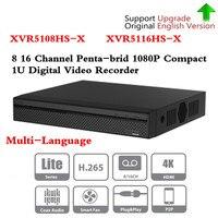 Бренд DVR XVR5108HS X XVR5116HS X 8ch 16ch до 6MP H.265 +/H.265Smart Поиск Цифровой Видео Регистраторы Бесплатная DHL доставка