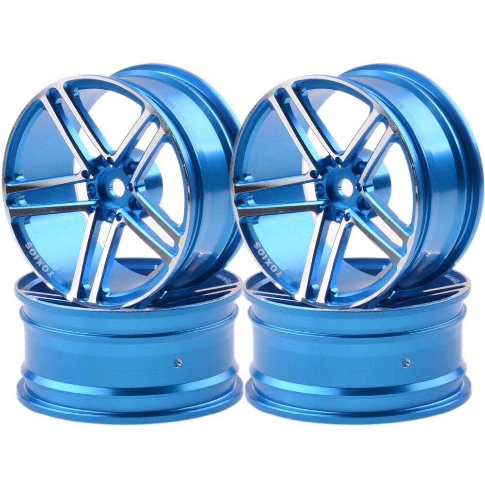 1054 RC 1/10 On-Road Drift Sakura HSP Tamiya Aluminum 5 Spoke AMG Wheels/Rims 4pcs aluminum alloy 52 26mm tire hub wheel rim for 1 10 rc on road run flat car hsp hpi traxxas tamiya kyosho 1 10 spare parts