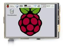 Бесплатная доставка! ЖК-дисплей модуль Пи TFT 3.5 дюймов (320*480) сенсорный Дисплей модуль TFT для Raspberry Pi