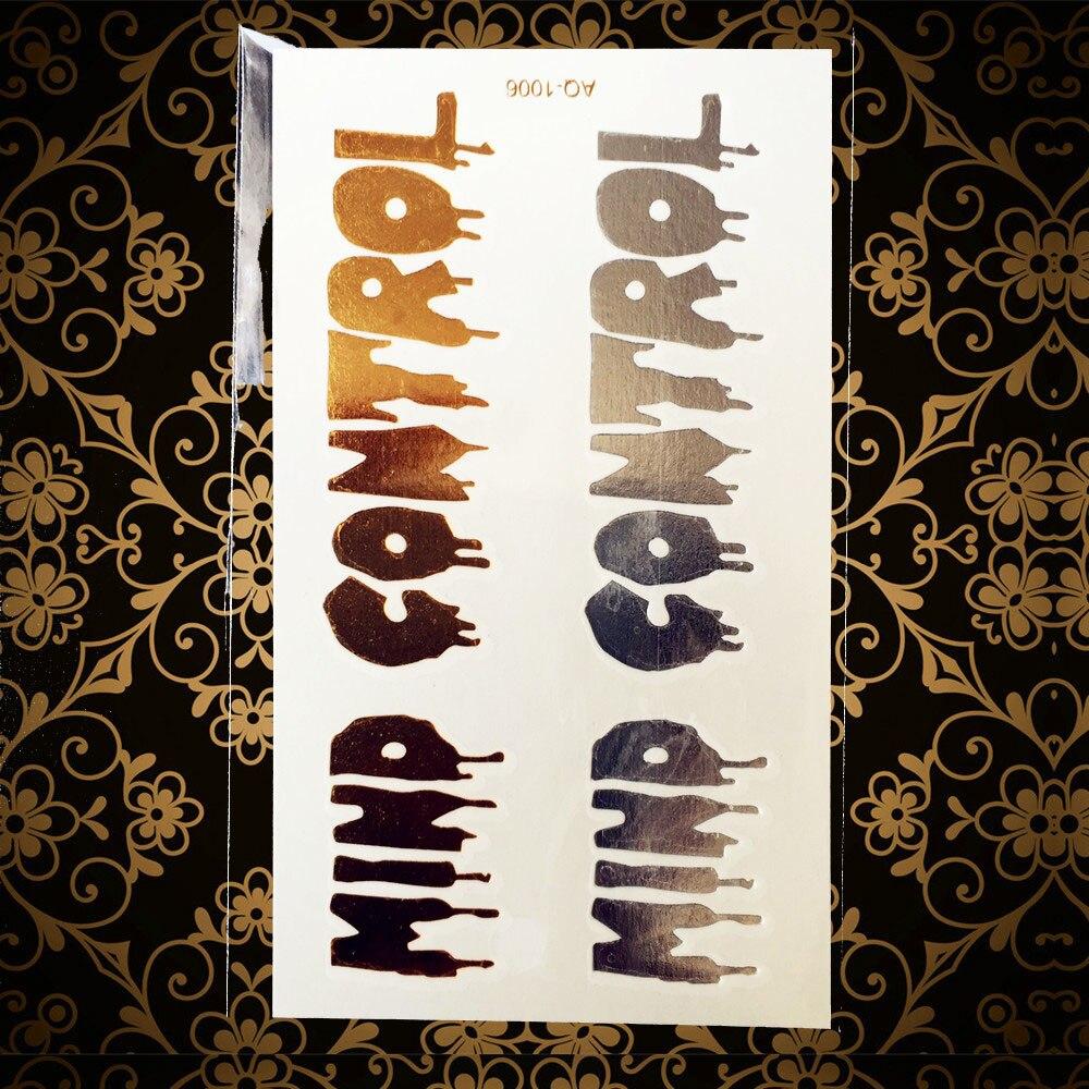 Gold Silber Farbe Zitate Geist Control Wasserdichte