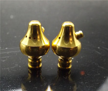 Auriculares BRICOLAJE shell, concha auricular del metal, 10mm auricular Auricular, Cavidad del oído, los auriculares shell de cobre Puro