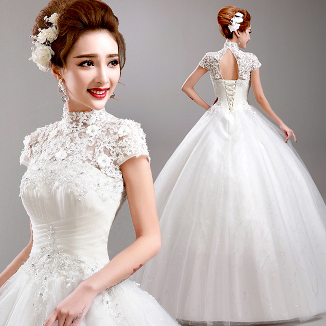 T 2016 Stock New Bridal Gown Wedding Dress Bandage: Weeding Dress For Pregnant 2016 Recommend Embroidery