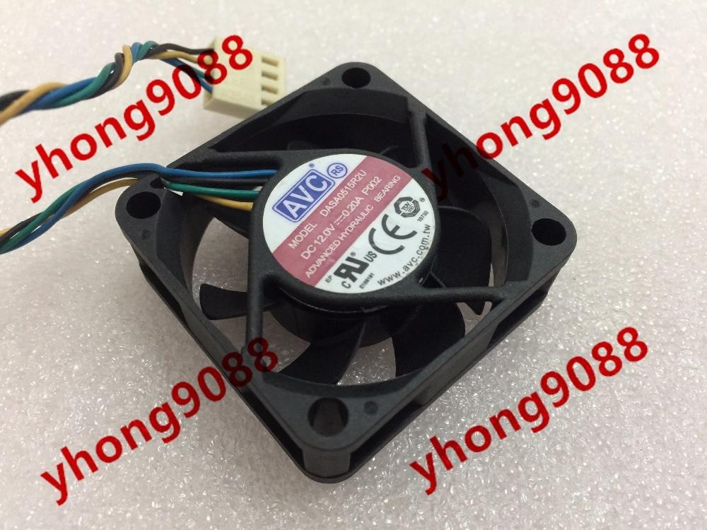 AVC DASA0515R2U, P002 DC 12V 0.20A 45x45x15mm сервера Square Fan
