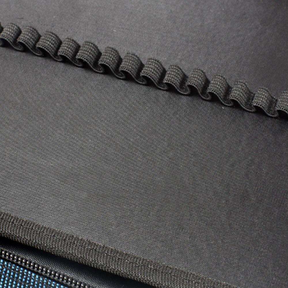 Image 5 - Protable 4 Layers 120 Slots Canvas Pencil Bag Gel Pens Holder Large Capacity Pencil Case Art School SuppliesPencil Bags   -
