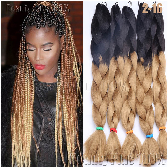 Aliexpress Buy Synthetic Braiding Hair 24 Box Braids 100g