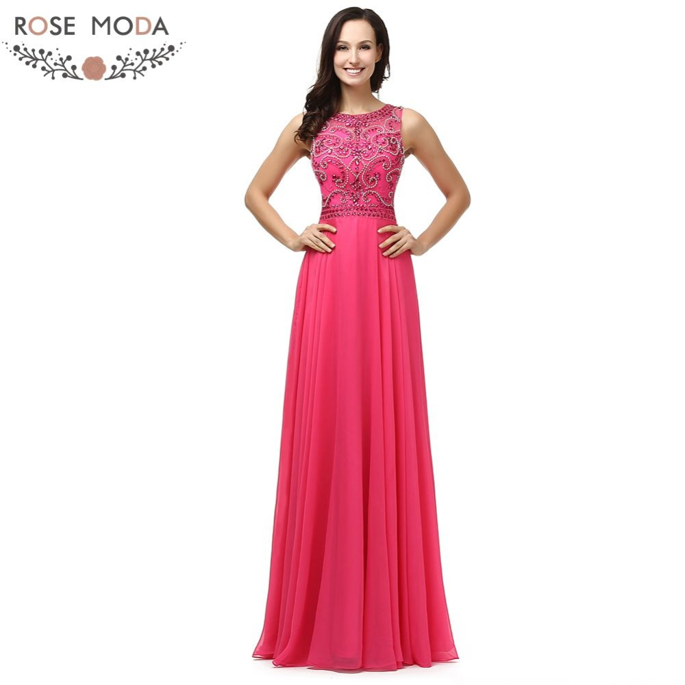Manufacturer of elegant dresses evening dresses occasional wholesale - Real Photo Elegant High End Beading Chiffon Long Peach Evening Dress Special Occasion Dresses China