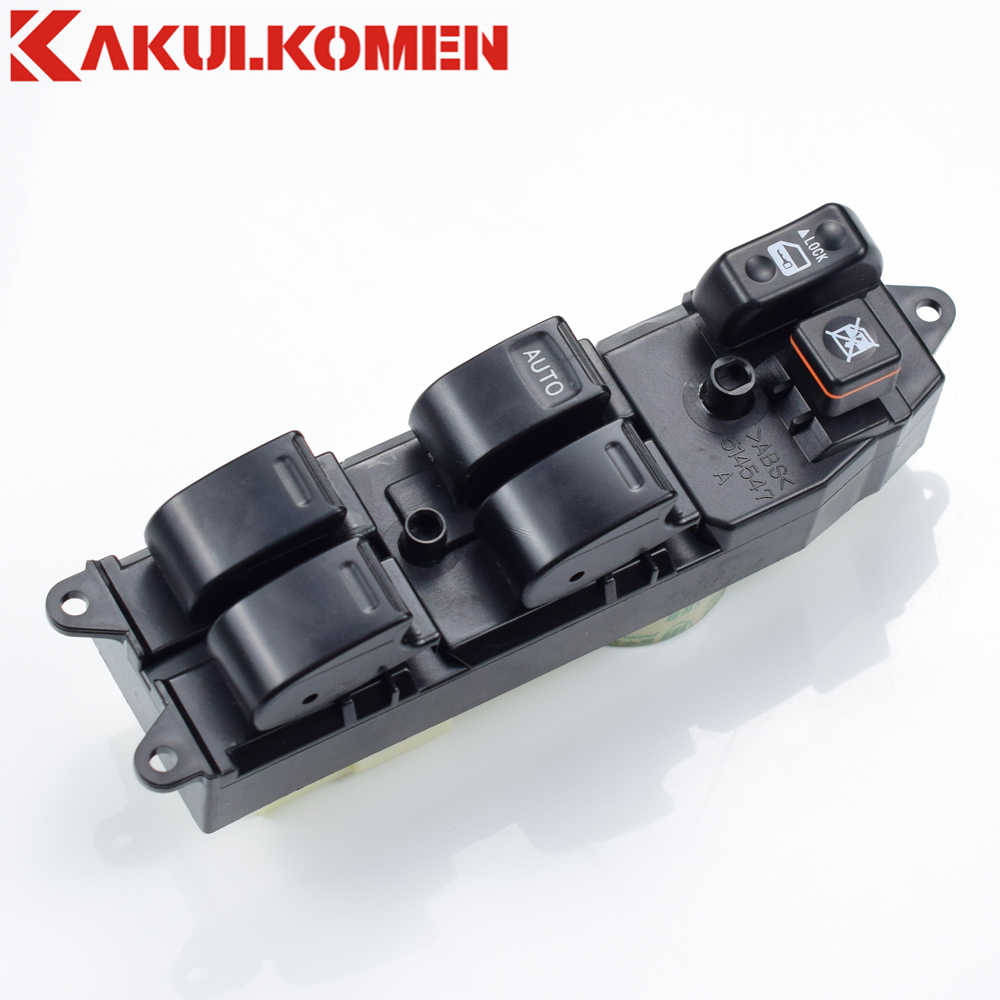 84820-12340 8482012340 LHD Electric Power Window Master Pengangkat Saklar Kontrol Tombol Tekan Panel untuk Toyota Corolla 1995- 2004