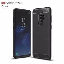 цена на for samsung S6 S7 Edge S8 S9 plus phone case carbon fiber full back cover luxury fitted case for samsung S6 S7 Edge S8 S9 plus