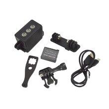 Underwater Gentle Diving Waterproof LED Video Spot Lamp For GoPro Session Go Professional Hero 5 four SJ4000 Xiaomi Yi 4k Digicam Equipment