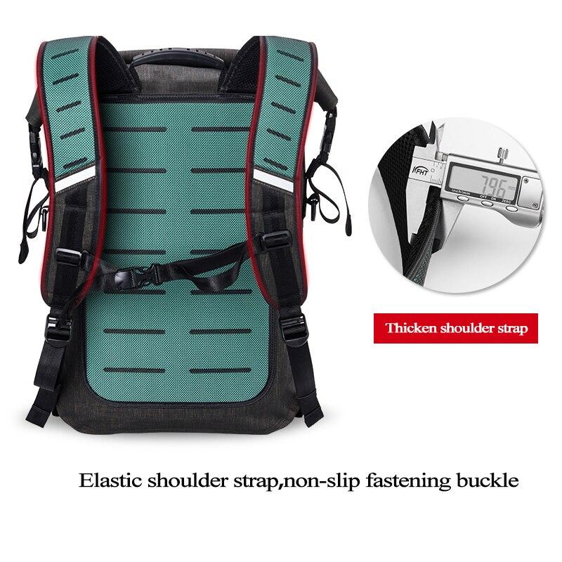 Спаситель M 02 Туризм/на велосипеде и рюкзак мешок с безопасностью светодиодный индикатор дистанционного управления открытый сумки, сигнал ... - 4