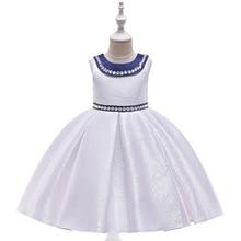 Flower Girl Dress for Weddings First Communion Dresses Christmas Costume Tutu Dress Kids Pageant Evening Princess BallGown Baby недорого