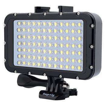 For Gopro Hero 8765 SJCAM SJ6/8/9 Xiaomi yi Mijia EKEN H9R Action/SLR Camera Underwater Photography Light Lamp Flashlight Diving