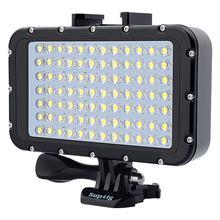 Pour Gopro Hero 8765 SJCAM SJ6/8/9 Xiaomi yi Mijia EKEN H9R Action/SLR caméra sous marine photographie lumière lampe lampe de poche plongée