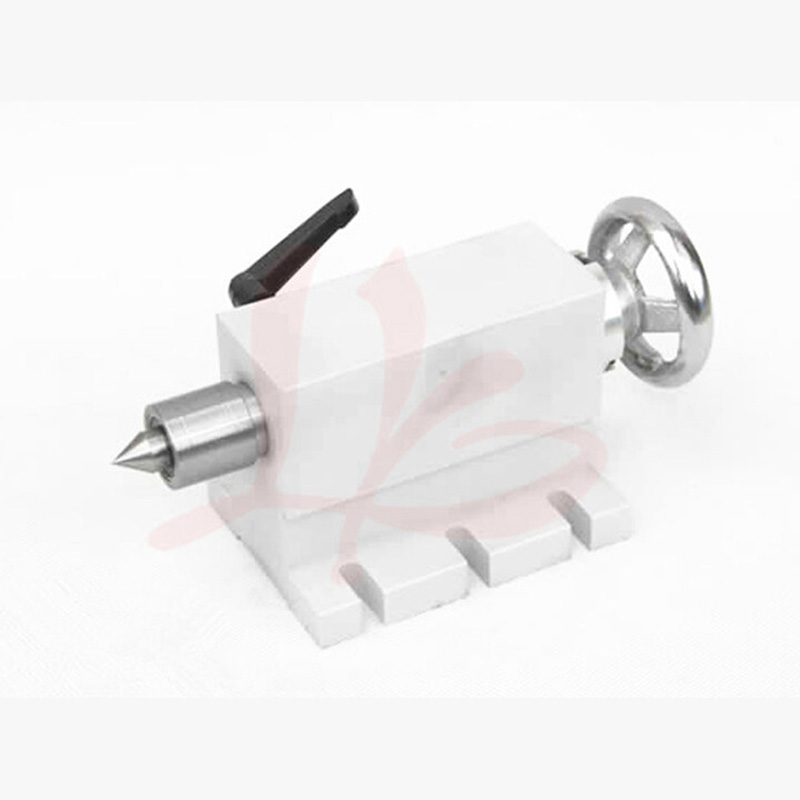 CNC tailstock 002, 4 Axis, MT2 Rotary Axis Lathe Engraving Machine Chuck mt2 rotary axis lathe engraving machine chuck for mini cnc router engraver