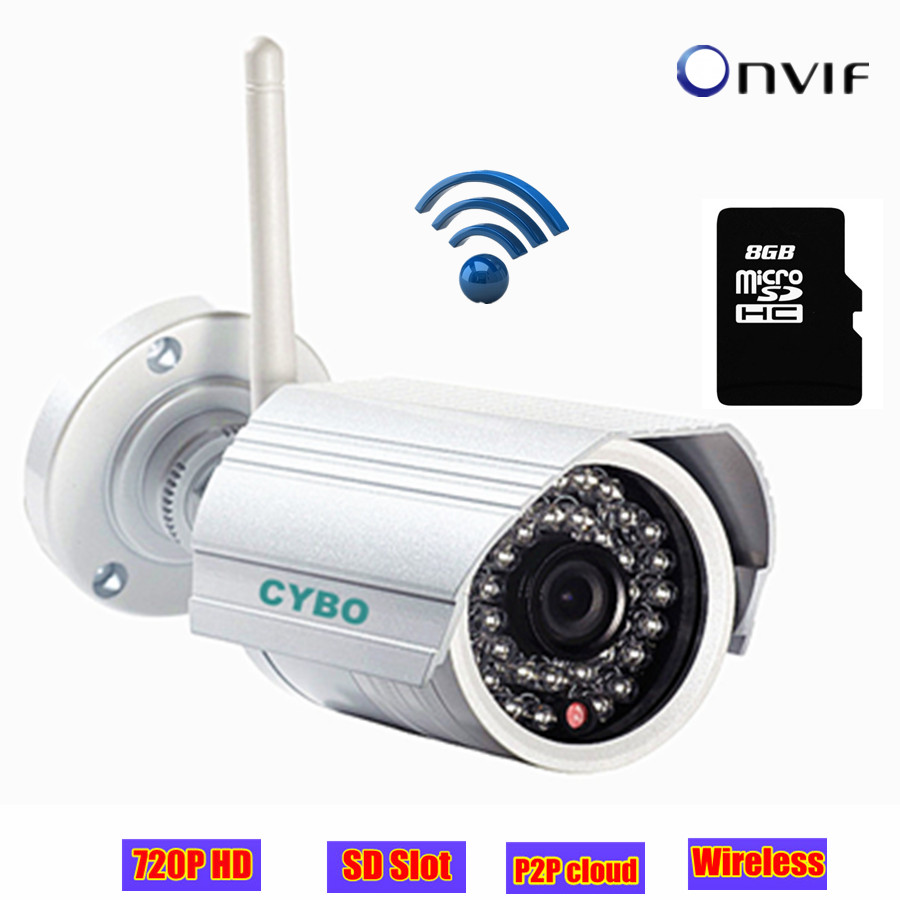 buy 1mp onvif mini wifi cctv security ip camera hd wireless 720p megapixel ir. Black Bedroom Furniture Sets. Home Design Ideas