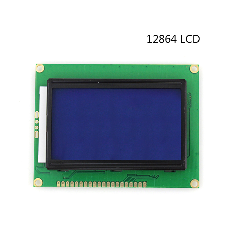 12864 128*64 LCD module 5V Dots Graphic blue screen 12864 LCD with backlight LCD Display ...