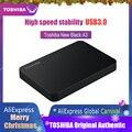 Жесткий Диск Toshiba Портативный 1 ТБ 2 ТБ Бесплатная доставка ноутбуки внешний жесткий диск 1 ТБ Disque мажор hd экстерно USB3.0 HDD 2,5 жесткий диск