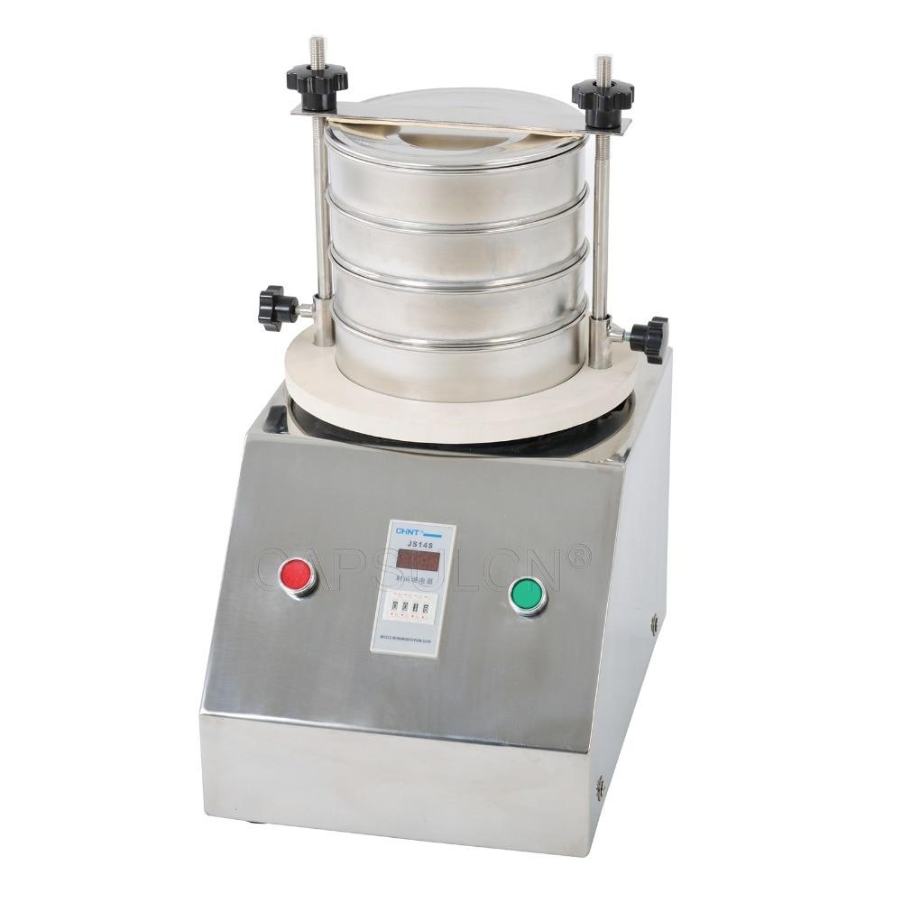 SY-200 solide, Machine de tamis vibrant liquide de poudre, agitateur de laboratoire/Machine de tamisage de poudre/écran vibrant