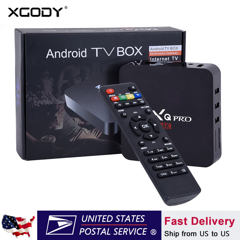 US $35 98 20% OFF|XGODY MX Android 7 1 Smart TV Box 17 4 Media Player S905W  Quad Core 1GB 8GB Wifi HD 4K Internet TV Set top Box-in Set-top Boxes from
