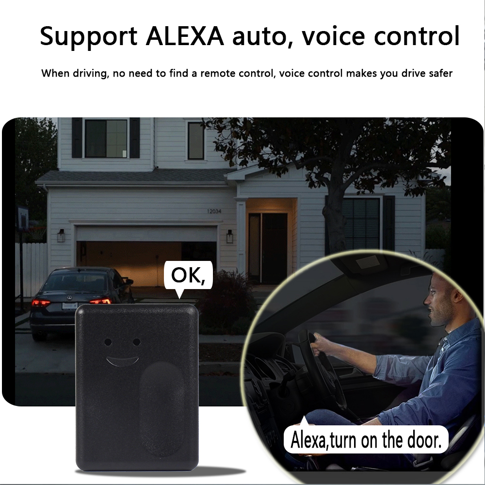 Image 5 - Garage Smart WiFi Switch Smart WiFi Plug Phone APP Control Garage Switch Alexa for Google Home IFTTT Smart home products sensor-in Smart Remote Control from Consumer Electronics