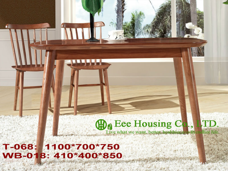 T-068.WB-018  Luxurious Solid Dining Chair,Solid Wood Dinning Table Furniture With Chairs/Home Furniture