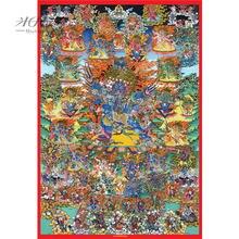 Микеланджело деревянный пазл плетеные Тибетские буддийские браслеты