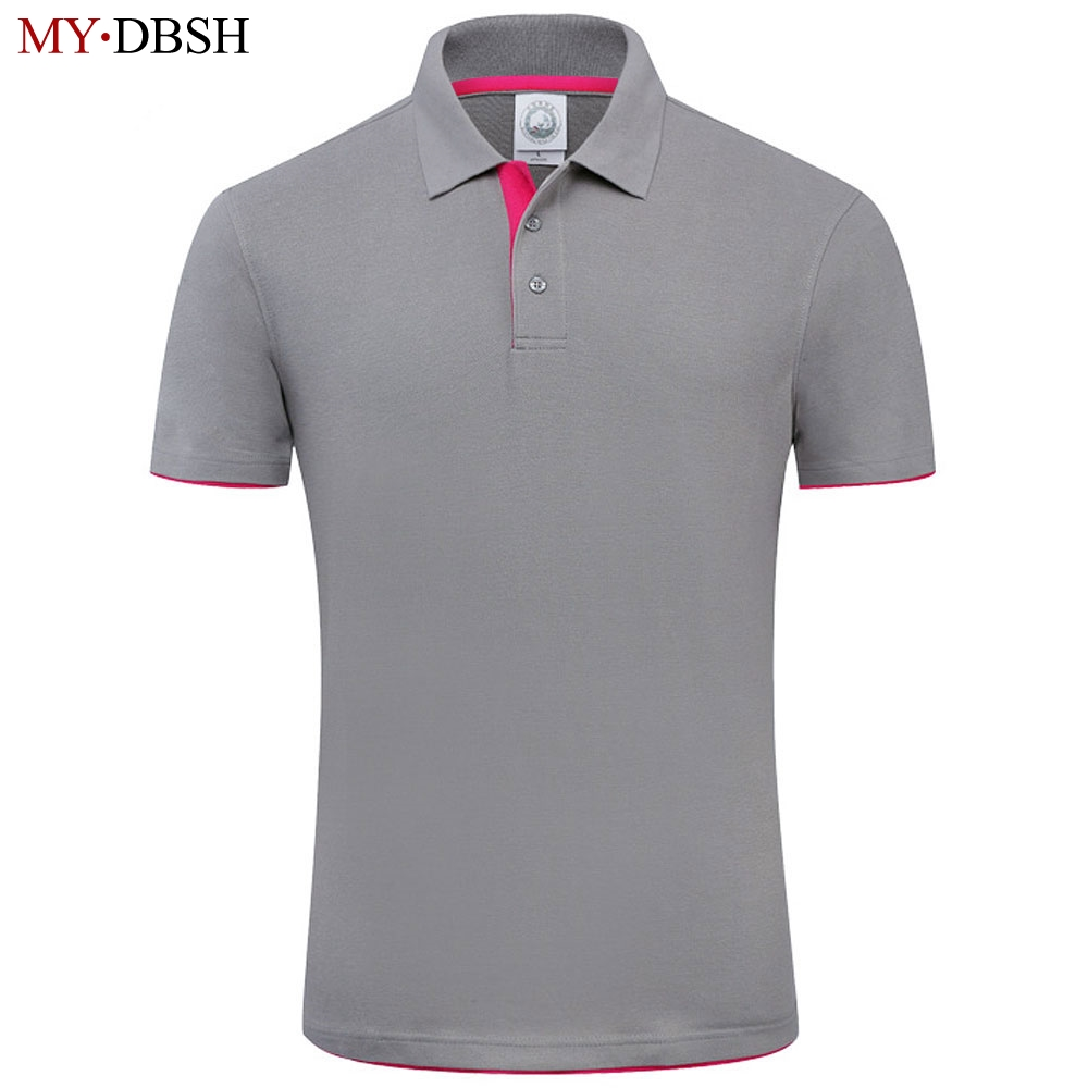 New 2018 MYDBSH Brand Polo Shirt For Men Designer Polo Men Shirt Soft Cotton Short Sleeve Polo Shirt Men Famous Brand Clothing white and red strip short sleeve men s cotton men s polo shirt