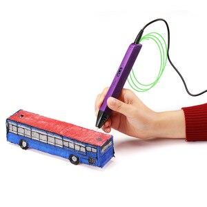 Image 5 - Lihuachen RP800A ثلاثية الأبعاد الطباعة القلم مع شاشة OLED المهنية ثلاثية الأبعاد قلم رسم لخربش الفن الحرفية صنع ولعب التعليم