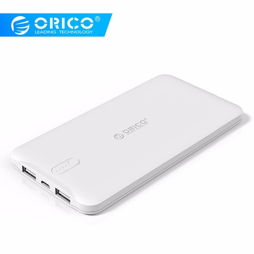 ORICO D5000 Puissance Banque 5000 mAh Scharge Polymère Puissance Banque D'alimentation Batterie Externe Chargeur Universel pour téléphone portable