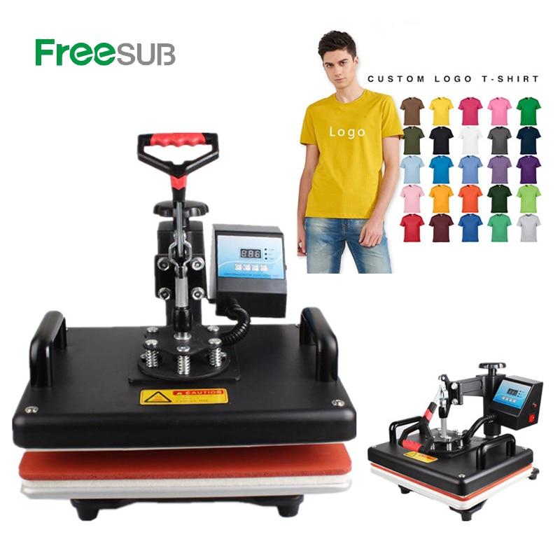 Cheap 29*38CM Sublimation T-shirt Heat Press Machine Digital Swing Heat Transfer T-shirt Printing DIY Sublimation Printer