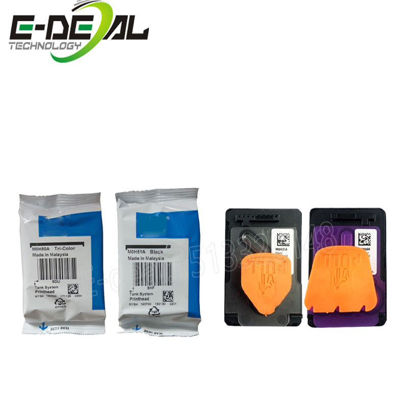 E-deal Original New M0H50A M0H51A Print Head GT51 GT52 Printhead Compatible For <font><b>HP</b></font> 5810 <font><b>5820</b></font> GT5810 GT5820 Ink Tank 310 410 318 image
