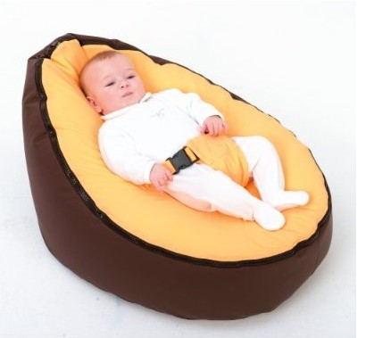 Free Shipping Disco Convertible  Baby Beanbag Chair, Two Tops Baby Beanbags Pink Stone