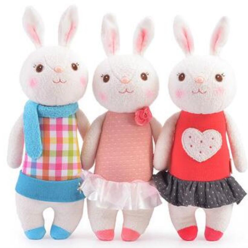 Original METOO Tiramisu rabbit dolls plush kids toys 8 style,35cm Bunny Stuffed Animal Lamy Rabbit Toy gifts arteast