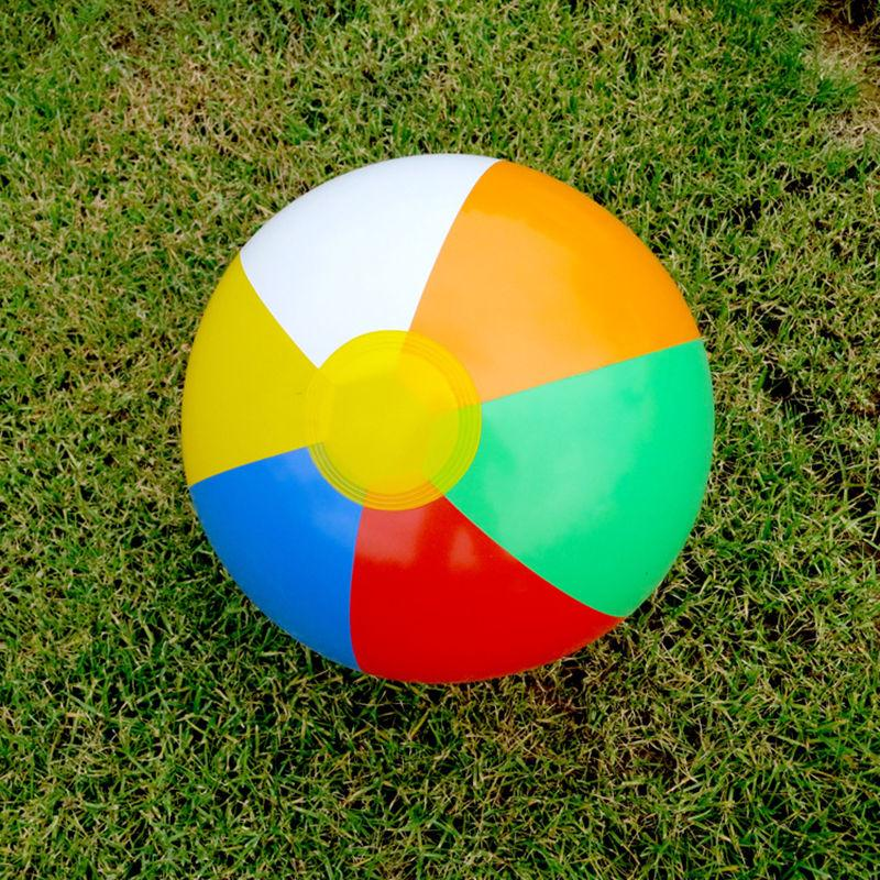 hot 5pcs Inflatable Beach Balls Swimming Pool Party Garden Funny Game Toy 23cm