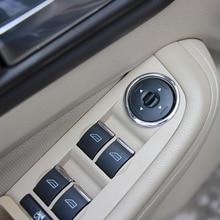 Автомобильный Стайлинг, стеклоподъемная кнопка, хромированное кольцо с блестками, автомобильные аксессуары для ford focus 2 MK2 sedan hatchback 2006-2012
