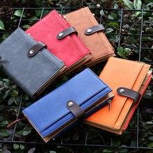 Yiwi 2019 Leuke A6 Notebook Snap Creatieve Kawaii Lijn Binnenpaginas Planner Organizer Dagboek Met Zip Money Bag