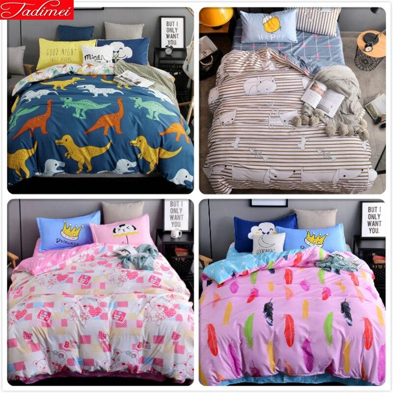 4 шт. постельные принадлежности 3/4 шт. кровати постельное белье костюмы дети мальчик девочка постельное белье 1,5 м 1,8 м 2,0 м набор пододеяльник...