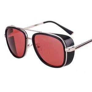 3d278f68904 XIESIQING Round Frame Sunglasses Men Vintage Sun Glasses