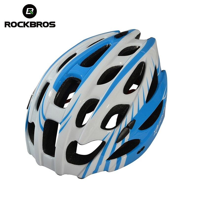 ROCKBROS casque de vélo ultra-léger sécurité respirant intégral moulé Anti-transpiration casques vtt vélo vélo EPS casque de cyclisme
