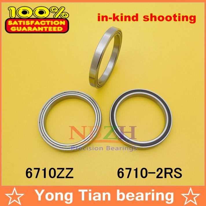 Высокое качество ультра-тонкий шариковые подшипники с глубоким желобом 6710ZZ 6710-2RS 50*62*6 мм