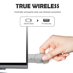 Image 2 - Data Frog TV Video Game Console 8 Bit Built in 1400 Classic Retro Games Potable Mini Wireless Controller AV/HD Output Dandy