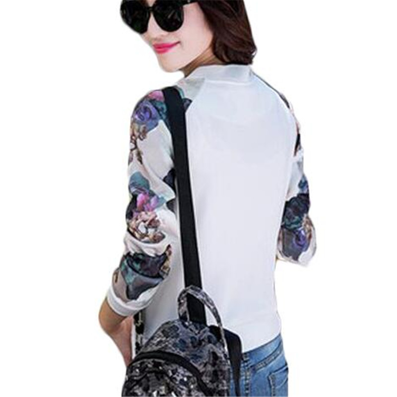 4d2ee1e8503ad ZYFPGS Spring Baseball Jacket Women Bomber Jackets For Women Plus Size 3XL  Print Coat ZMF789542-in Basic Jackets from Women s Clothing on  Aliexpress.com ...