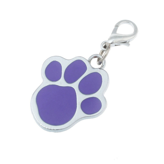 2017 Popolare Zampa Cucciolo Pet Tag collare di cane Ciondolo Bella Zampa access